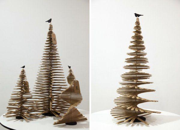 Arbol de Navidad en cartón