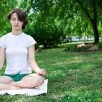 Meditación en el parque