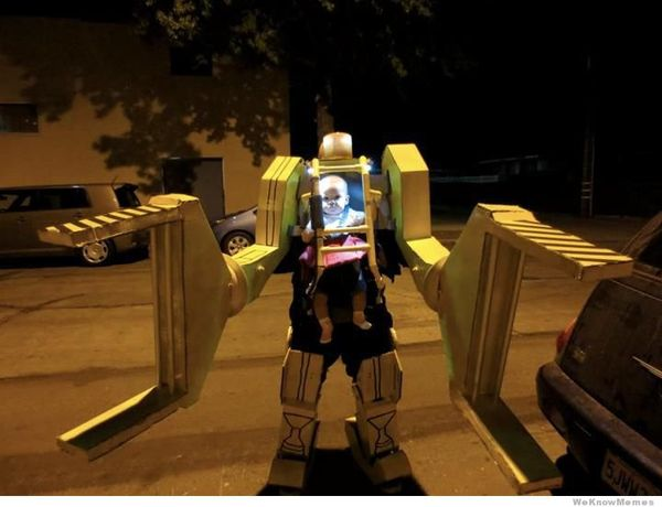 College Humor Robot Niño