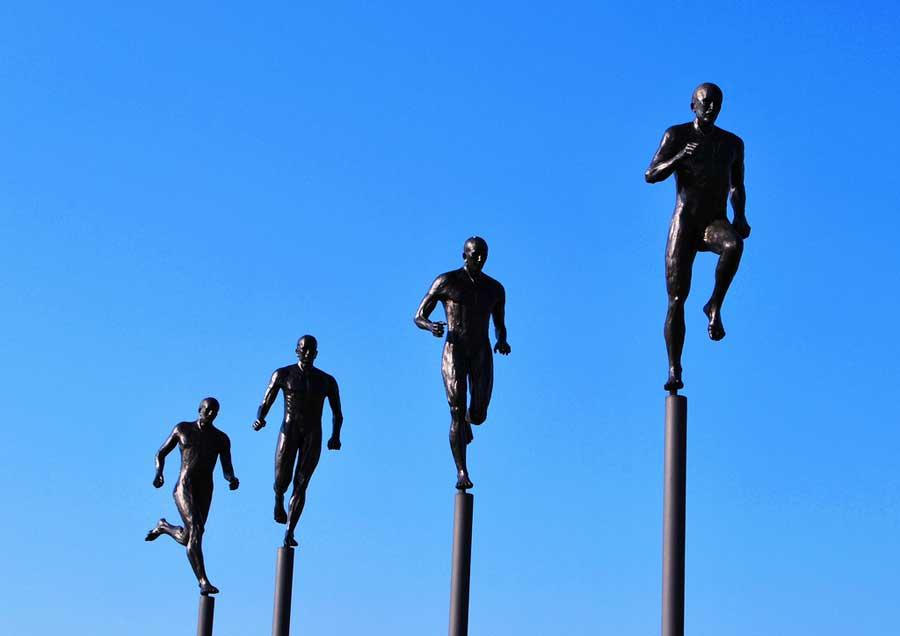 Casale Monferrato (Alessandria). Monumento allo sport