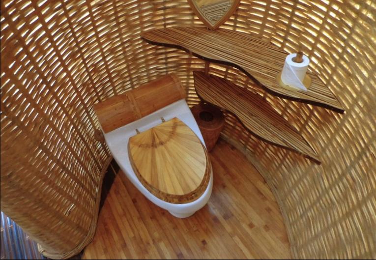 Elora Hardy, casas mágicas hechas de bambú