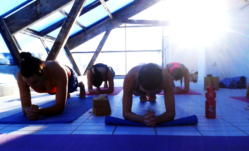 Power Yoga For Sports para el Waterpolo