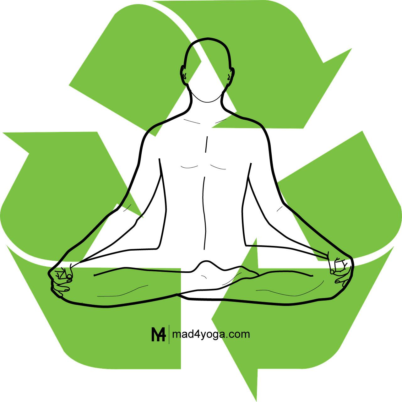 El reciclaje es yoga